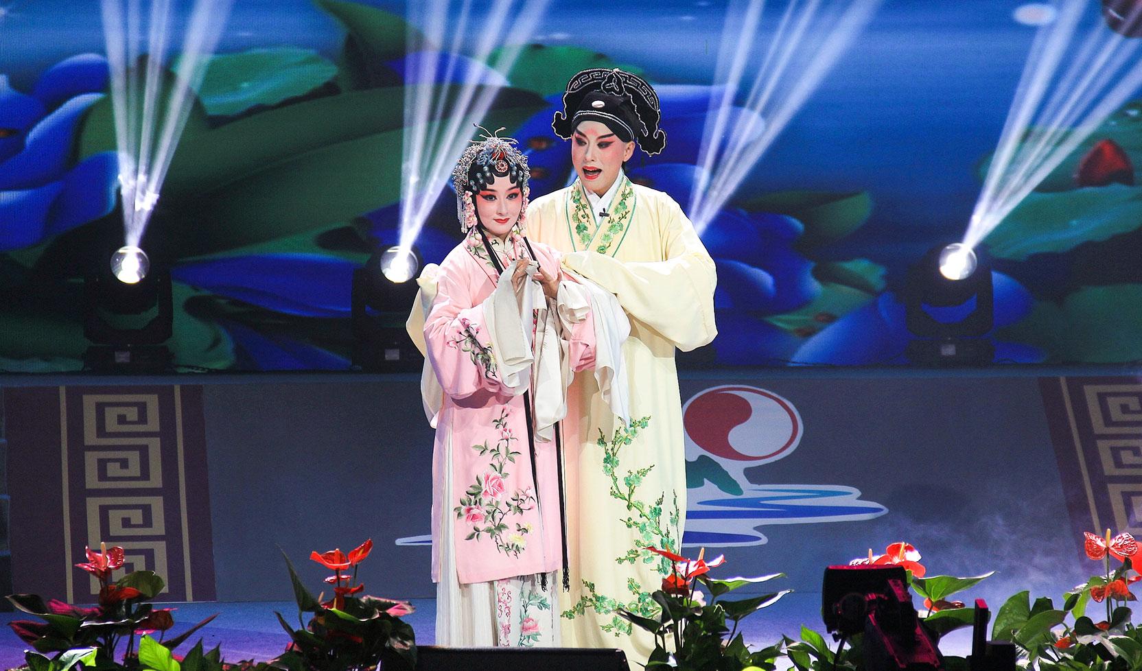 大好河山2019南京九周年庆典文艺晚会 昆曲《牡丹亭》选段 施夏明 蔡晨成