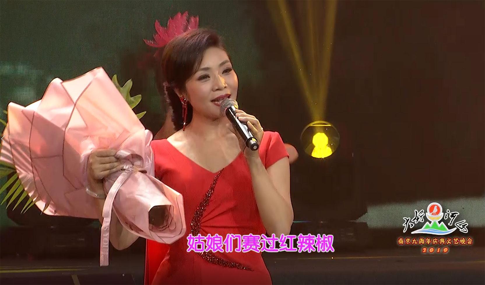 大好河山2019南京九周年庆典文艺晚会 歌曲《妈妈就是我的家》李丹阳