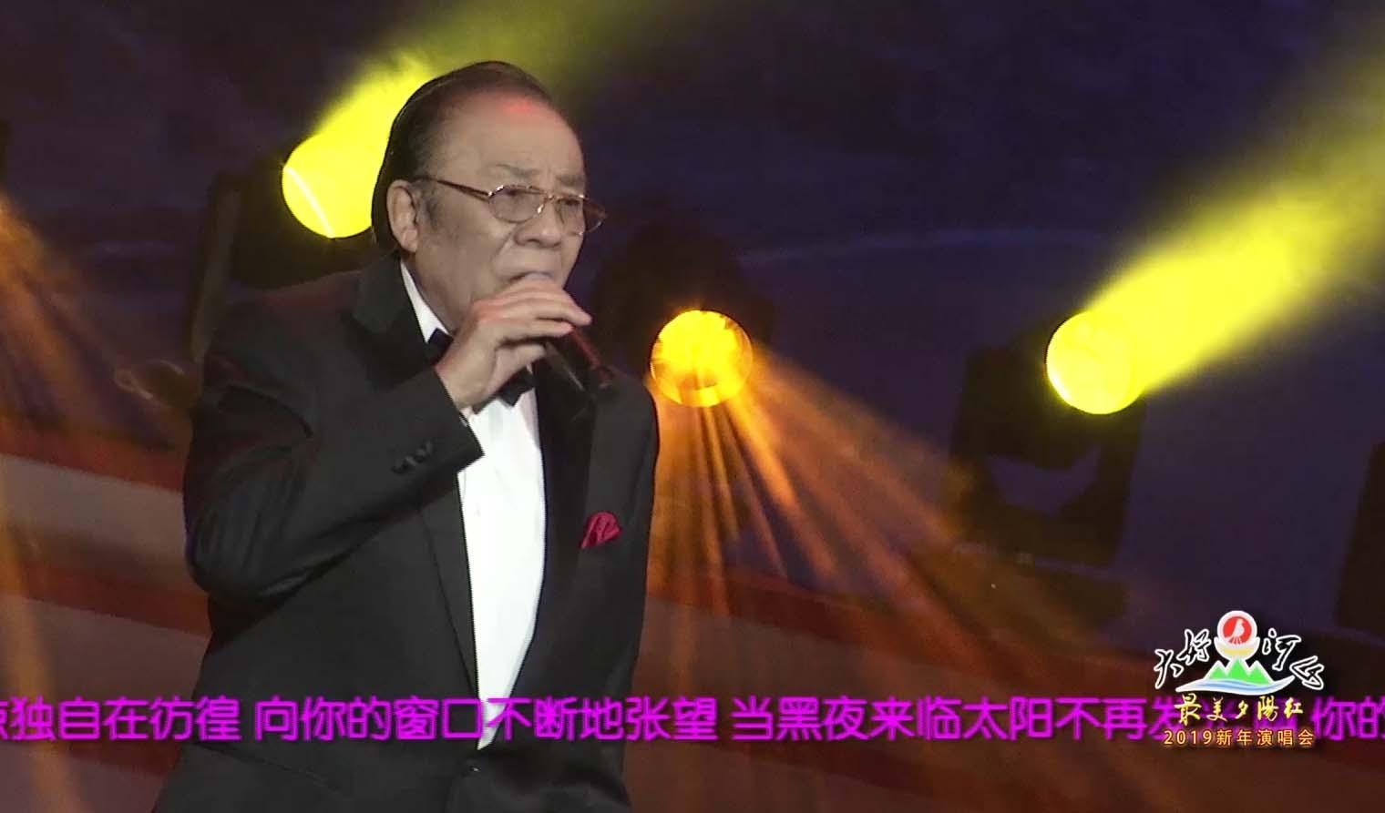 """大好河山2019""""最美夕阳红""""新年公益晚会 歌曲《我的太阳》杨洪基"""