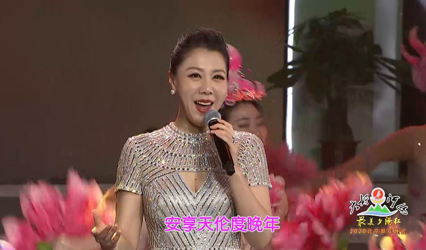 """大好河山2020北京""""最美夕阳红""""新年晚会 歌曲《幸福一百年》阎维文 王喆"""