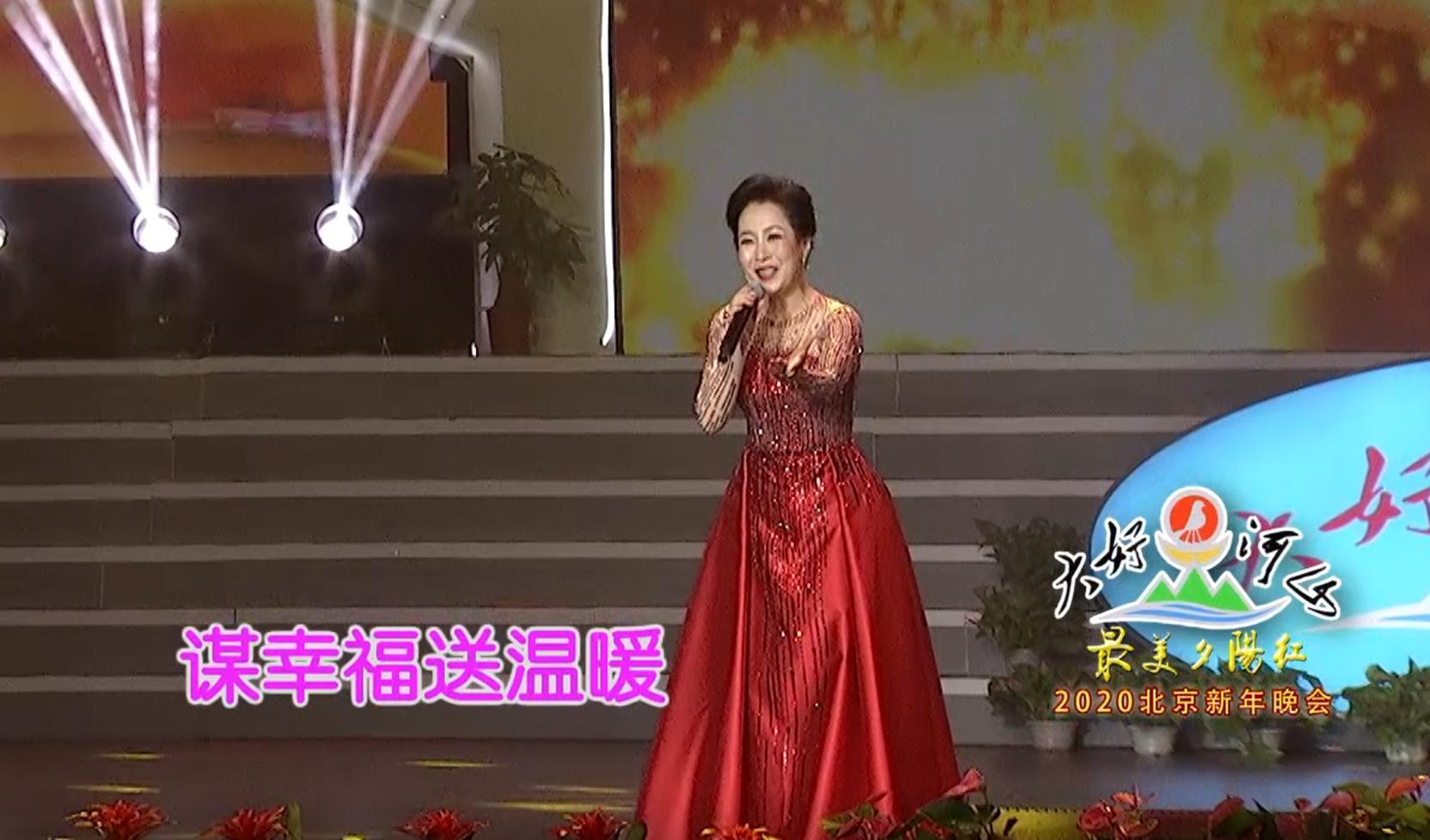 """大好河山2020北京""""最美夕阳红""""新年晚会 歌曲《江山》杨淑红"""