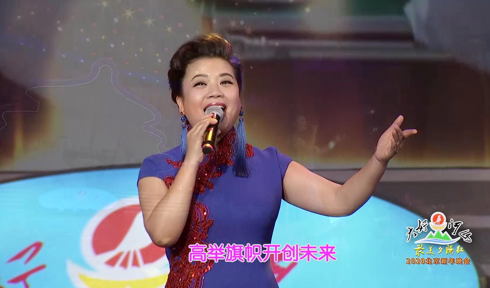 """大好河山2020北京""""最美夕阳红""""新年晚会 歌曲《走进新时代》张也"""