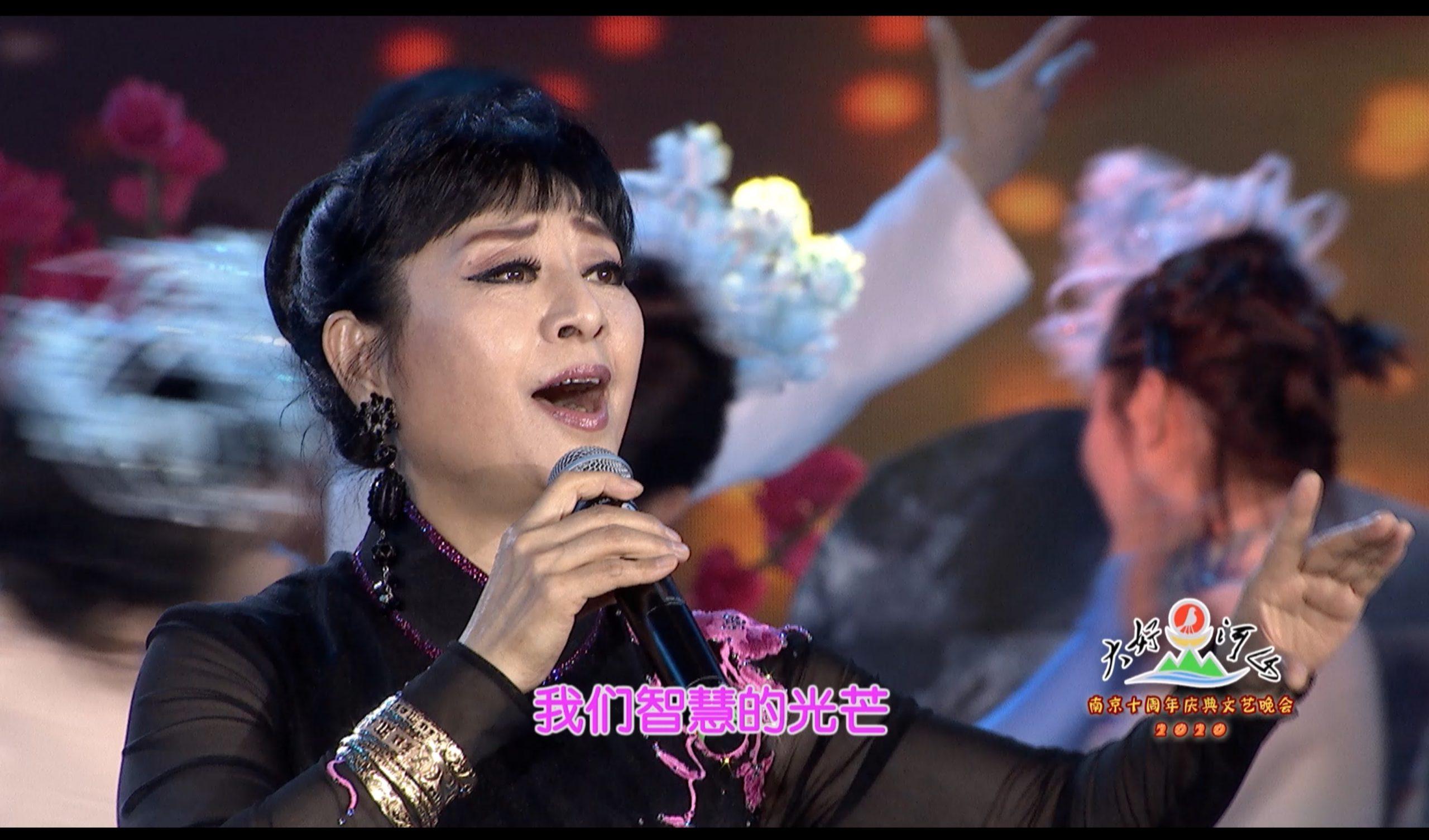 2020大好河山南京十周年庆典公益晚会 歌曲《复兴的力量》殷秀梅