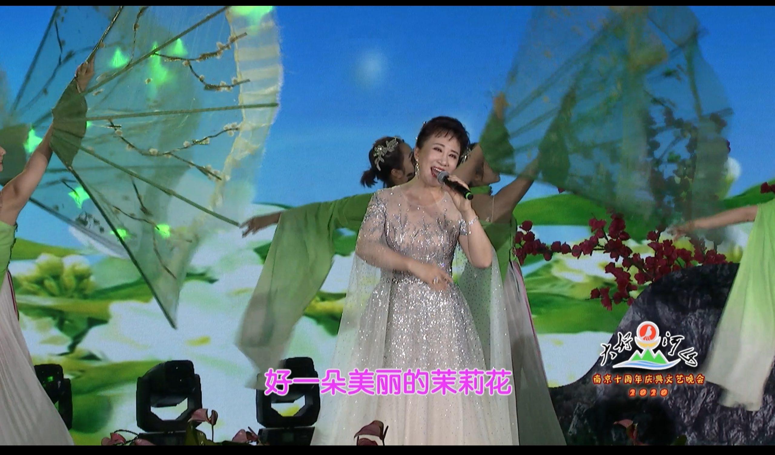 2020大好河山南京十周年庆典公益晚会 歌曲《茉莉花》程桂兰